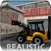 Backhoe Loader: Excavator Simulator Game icon