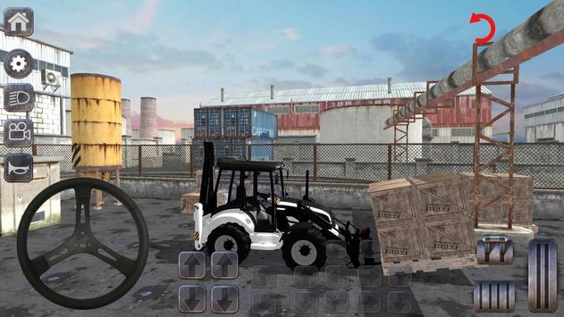 Backhoe Loader: Excavator Simulator Game poster