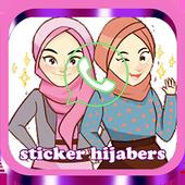 Sticker Hijabers For WA icon