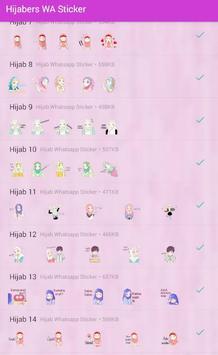 Sticker Hijabers For WA screenshot 2