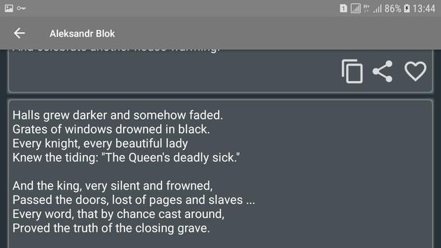 English poets with their poems screenshot 6