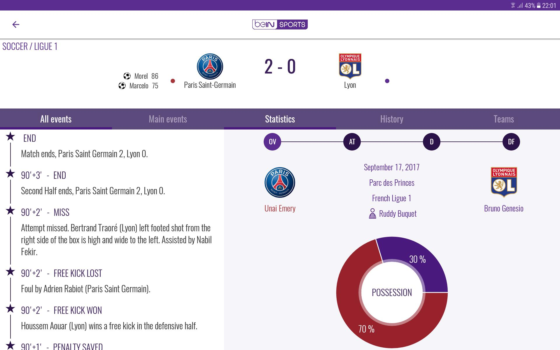 beIN SPORTS for Android - APK Download