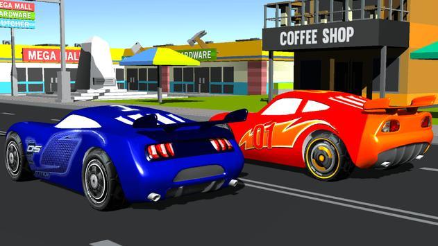 Super Kids Car Racing poster