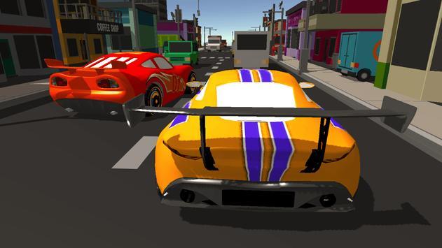 Super Kids Car Racing screenshot 11