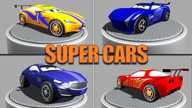 Super Kids Car Racing screenshot 1