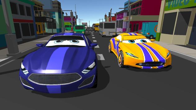 Super Kids Car Racing screenshot 2