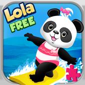 Lola's Beach Puzzle Lite icon