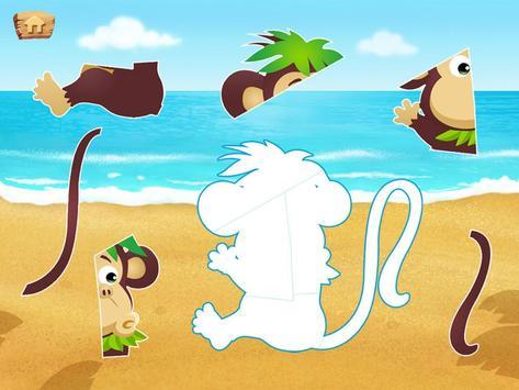 Lola's Beach Puzzle Lite screenshot 14