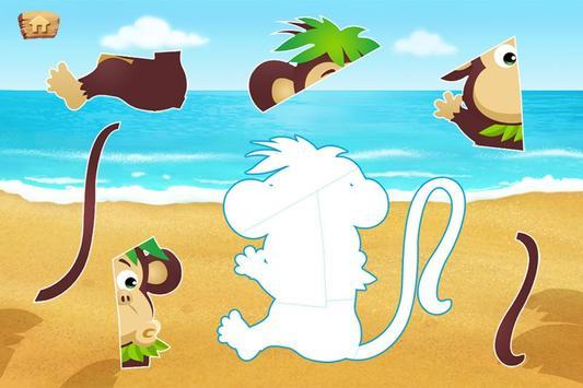 Lola's Beach Puzzle Lite screenshot 4