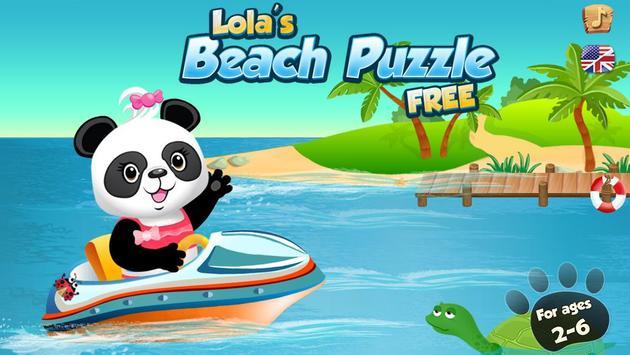 Lola's Beach Puzzle Lite screenshot 5