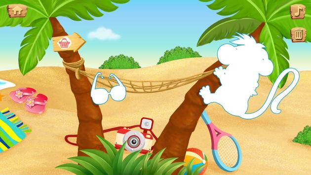 Lola's Beach Puzzle Lite screenshot 8