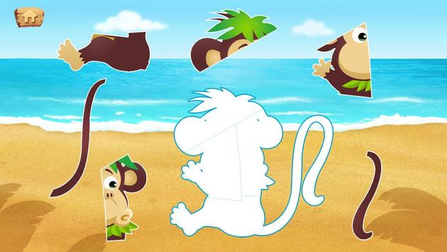 Lola's Beach Puzzle Lite screenshot 9