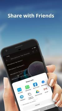 Microphone Tap Sounds screenshot 1