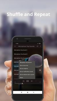 Microphone Tap Sounds screenshot 2