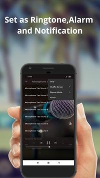 Microphone Tap Sounds screenshot 3