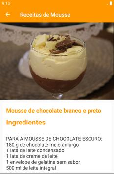 Receitas de Mousse screenshot 14