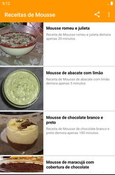 Receitas de Mousse screenshot 2