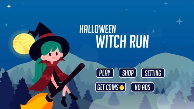 Halloween Witch Run poster