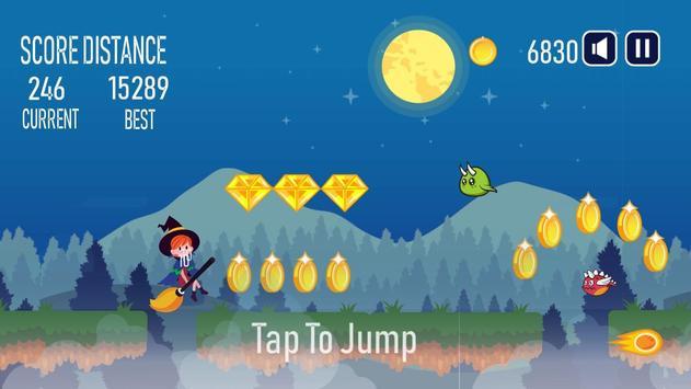 Halloween Witch Run screenshot 1