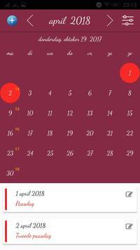 België Kalender screenshot 2