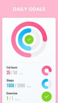 30 Day Workout: Fast Home Weight Loss & Diet Plans screenshot 4