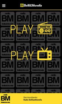 Radio BELLLA E MONELLA poster