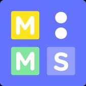 Mooms, flea market for kids icon