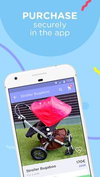 Mooms, flea market for kids screenshot 2