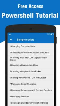 Powershell Tutorial for Android - APK Download