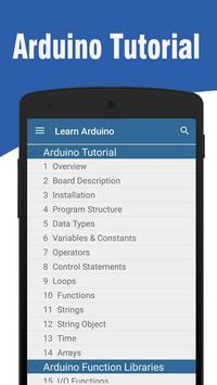 Learn Arduino poster