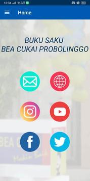 Buku Saku Pegawai BC Probolinggo poster