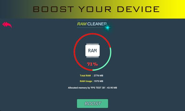FPS Test 3D Benchmark - Booster ảnh chụp màn hình 11