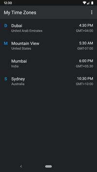 World Clock Widget screenshot 5