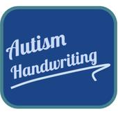Autism handwriting icon