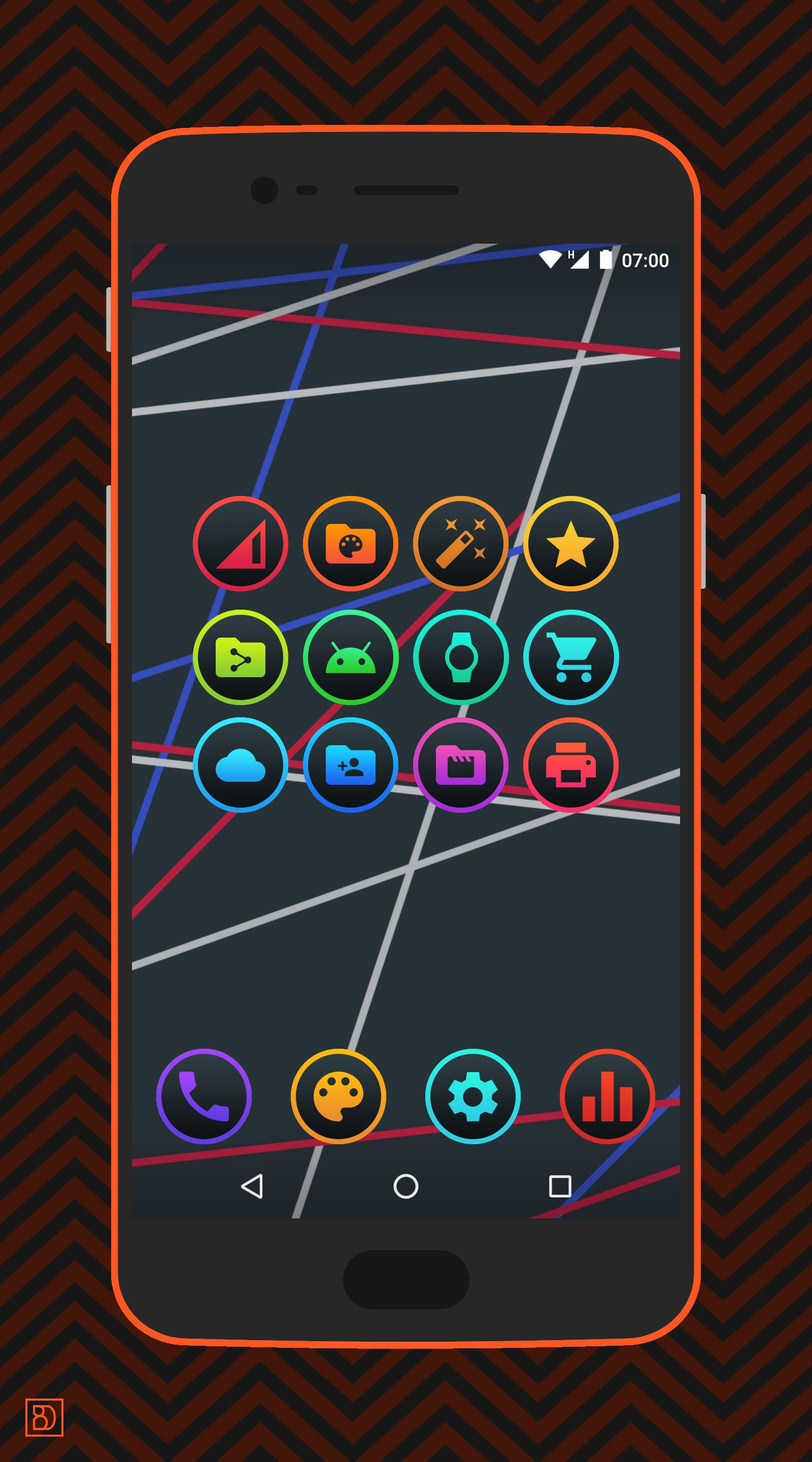 Lux Dark - Icon Pack for Android - APK Download