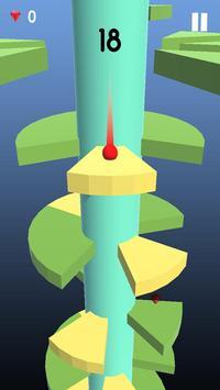 Telstar Jumping Ball : On Helix Spiral poster
