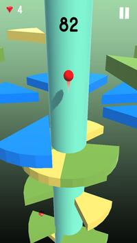Telstar Jumping Ball : On Helix Spiral screenshot 1