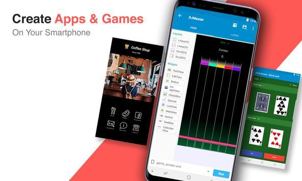스케치웨어 - 앱제작, 앱만들기, 코딩 앱 포스터