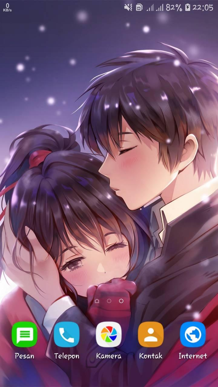 Romantic Anime Couple Wallpapers Hd For Android Apk Download Anime couple wallpaper offline
