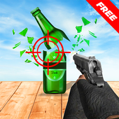 Best Bottle Shooter unlimited bottle shooting game icon