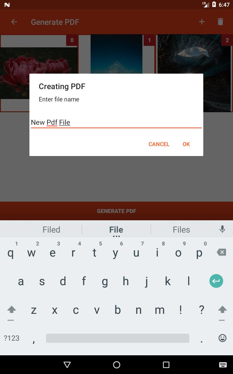 How To Generate Pdf In Android Example