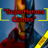 Superheroes Quotes and Lines icon