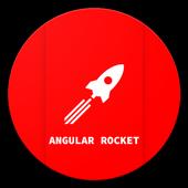 Angular Rocket icon