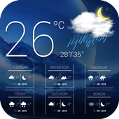 Pronóstico del tiempo icono