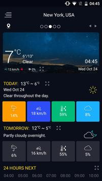 Pronóstico del tiempo captura de pantalla 8