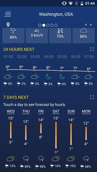 Pronóstico del tiempo captura de pantalla 2