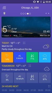 Pronóstico del tiempo captura de pantalla 3