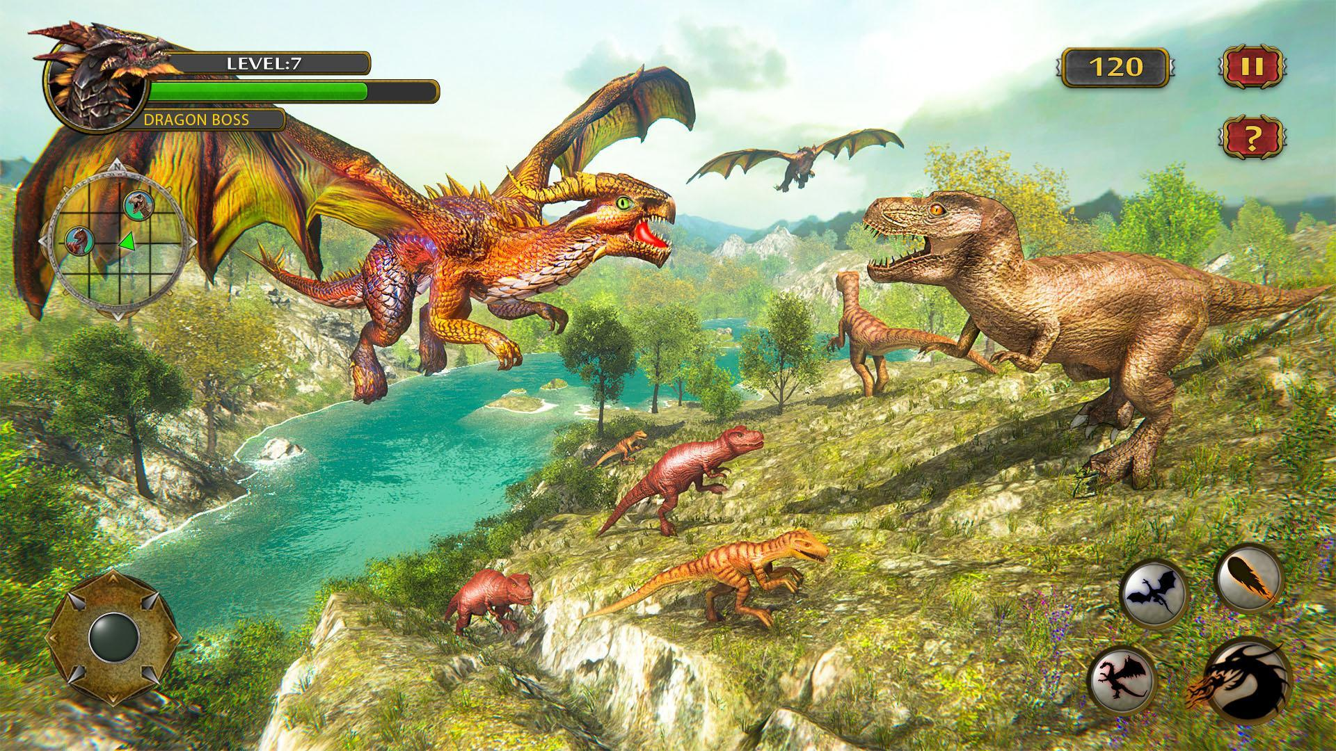 Dragon Simulator Attack 3D for Android - APK Download