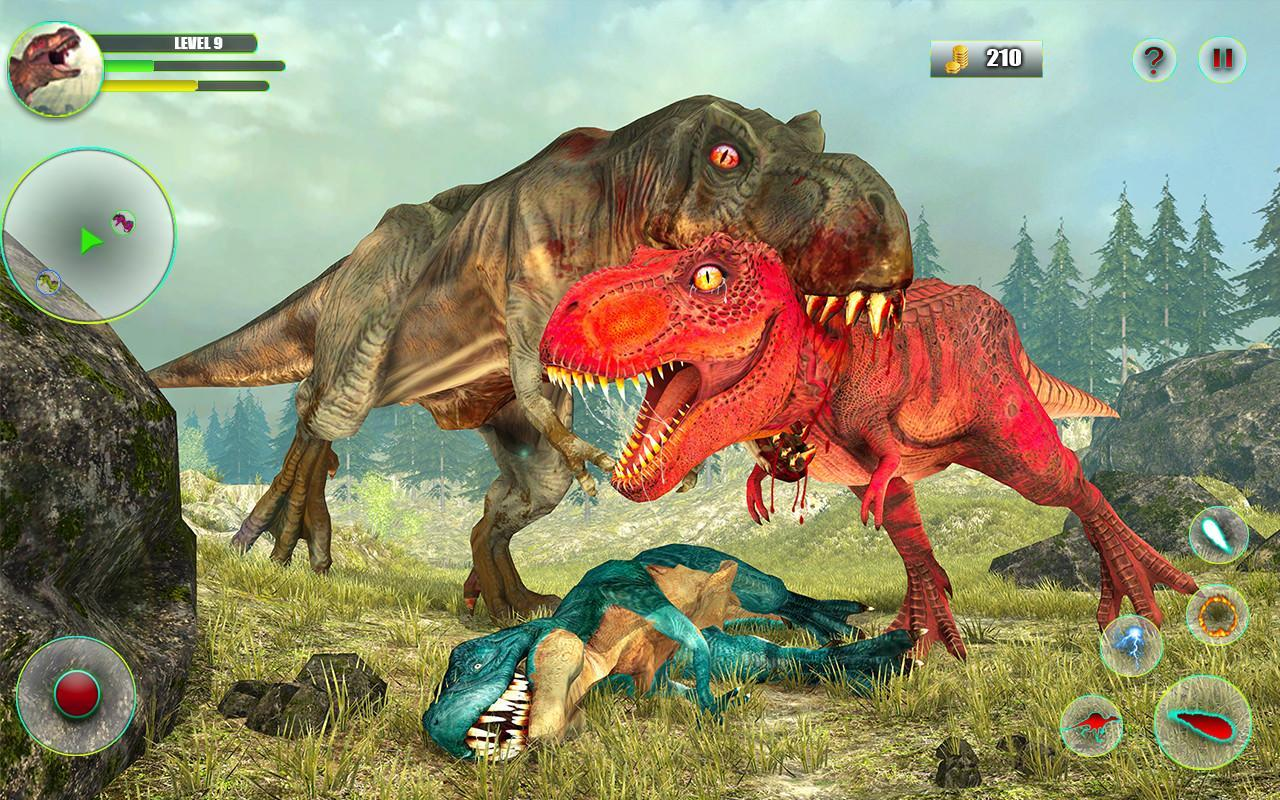 Dinosaur Games Simulator Dino Attack 3D for Android - APK