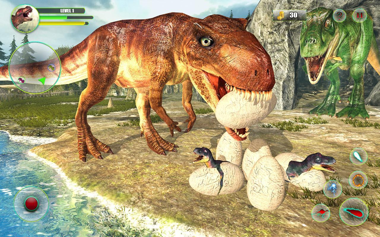 Dinosaur Games Simulator Dino Attack 3d For Android Apk Download